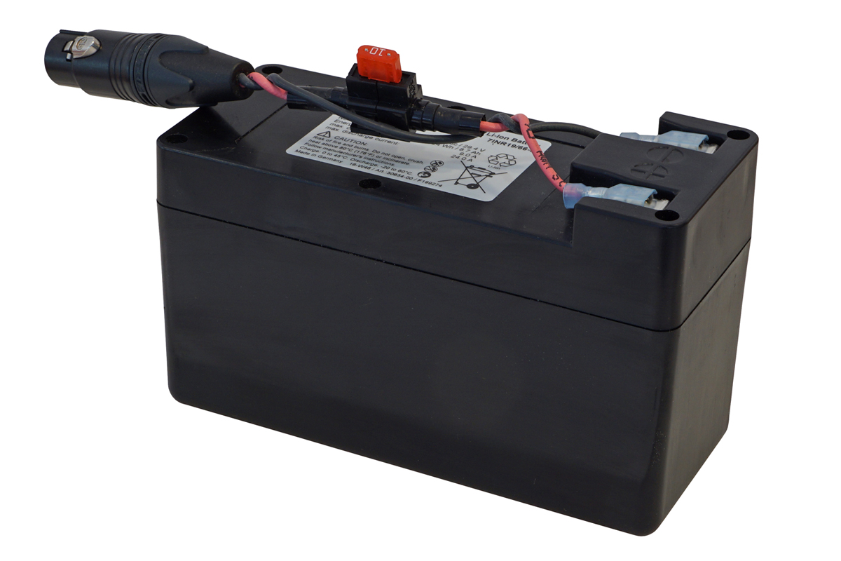 Li-Ion-batteri 25.2 V / 8.7 Ah